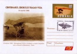 Traian Vuia Centenary Flight, Airplane Vuia I, 2006, Romania - Avions