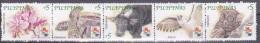 Philipijnen 2001, Postfris MNH, Flowers, Annimals ( Foldet See Scan ) - Philippines