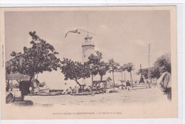 St-Pierre-la-Martinique - Le Phare Et Le Quai - Martinique
