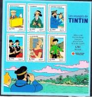 France-2007-Bloc Feuillet TINTIN - Stripsverhalen