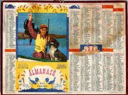 ALMANACH DES P.T.T 1961  -   ** LEQUEL EST LE PLUS FIER  **    -  Calendrier * OLLER * Série 1 - Big : 1971-80
