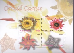 Gambia 2004, Postfris MNH, Flowers - Gambia (1965-...)