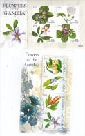 Gambia 2008, Postfris MNH, Flowers - Gambia (1965-...)