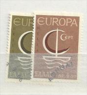1966 USED CEPT Greece - Europa-CEPT