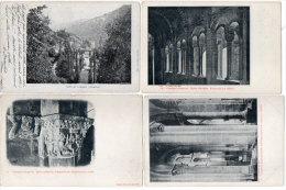CONQUES -  4 CPA - Triforium - Eglise - Entrée Du Choeur - Vallée  (85272) - Frankrijk