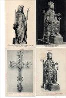 CONQUES -  4 CPA - Statue De Ste Foy (3) La Croix En Argent   (85273) - France