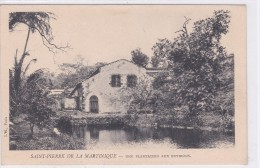 Saint-Pierre-de-la-Martinique - Une Plantation Aux Environs - Martinique
