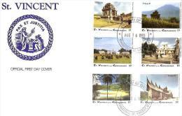 58230) FDC Di S. Vinent E Grenadine- Indopex93-serie Completa -  1/6/1993 - St.Vincent E Grenadine