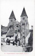 CONQUES - Eglise Abbatiale - Façade O. - Attelage (85278) - Francia