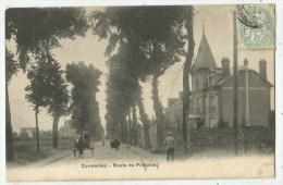 Cormeilles En Parisis   (Val D´Oise) La Route De Pontoise - Attelage - Cormeilles En Parisis