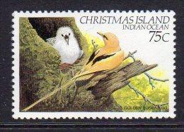 CHRISTMAS ISLAND - 1982 75c WHITE-TAILED TROPIC BIRD FINE MNH ** SG163 - Christmas Island