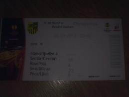 Football Soccer. Ticket Metalist - Olympiacos 08.03.2012 - Biglietti D'ingresso