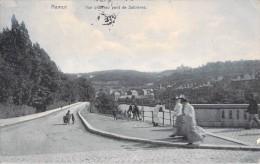 NAMUR VUE PRISE AU PONT DE SALZINNES - Namur