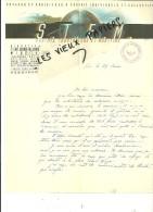 06 - Alpes-maritimes - NICE - Facture S.T.E.M. - Voyages Et Croisières – 0000 - REF 39A - 1900 – 1949
