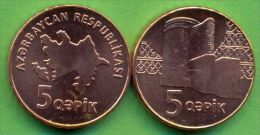 Azerbaijan 2006 (ND) 5 Qapik KM#41 UNC / BU !!! - Azerbaïjan