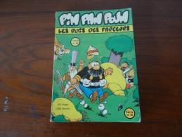BD PETIT FORMAT 17 X 24  PIM PAM POUM ALBUM N° 10  1960 - Pim Pam Poum