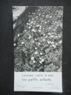 """IMAGE Pieuse """"Laissez Venr à Moi Les Petits Enfants"""" LUC XVIII 16 (SCHAEFFER J C 36) - Religion & Esotericism"""