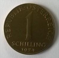 Monnaie - Autriche - 1 Schilling 1974 - - Autriche