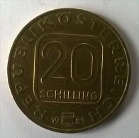 Monnaie - Autriche - 20 Schilling 1982 - - Autriche