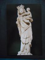 """Grande IMAGE Pieuse """"Vierge à LEnfant N D De PARIS"""" -Prière Au Pape Jean Paul II (PROCURE MISSIONNAIRE DE L'ASSOMPTION"""" - Religion & Esotericism"""