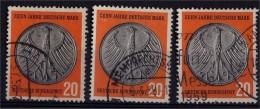 Deutsche Bundespost - 1958 - Mi 291 (°) - Gebraucht