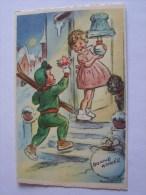 BOURET GERMAINE ENFANTS BONNE ANNEE  M.D PARIS NO 650 - Bouret, Germaine