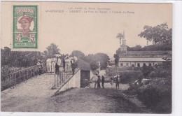 Martinique - Carbet - Le Pont Et L'église, à L'entrée Du Bourg - Martinique