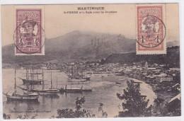 Martinique - St-Pierre Et La Rade Avant Les éruptions - Martinique