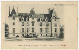Chateau De Pont Jarno à Champdeniers Au Comte De Liniers - Champdeniers Saint Denis