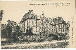 Chateau De St Loup Au Marquis De Maussabré - Saint Loup Lamaire