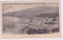 Saint-Pierre-de-Martinique  - Le Port - Martinique