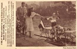 Mistinguett Souhaite Bon Voyage à R. Savard - Hydroglisse - Nautilette - 95332 - Cycling