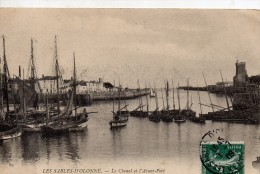Les Sables-d'Olonne Le Chenal Et L'avant Port - Sables D'Olonne