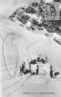 """CPA:  Skipartie Auf Ein """"Watzmannkind""""  (allemagne):    En 1922.    (A 3845) - Wintersport"""