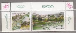 EUROPA CEPT 1999 Monaco Mi 2454 - 2455 MNH (**) #19731 - Monaco