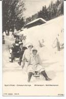 SUISSE  -  Sport D´Hiver - Concours De Luge  - Wintersport - Schlittenrennen --1905 -- - Andere