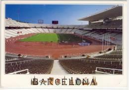 BARCELONA - Estadi Olimpic De Montjuic, Stadion, Stade, Estadio Calcio Foot Ball Soccer - Stadiums