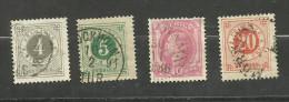 Suède N°31, 32, 34, 35 Cote 3.65 Euros - Suède