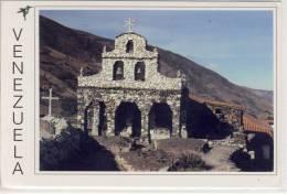 VENEZUELA - SAN RAFAEL DE MUCUCHIES - The Stones Church, Iglesia De Piedra, Nice Stamp - Venezuela