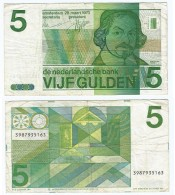 Países Bajos 5 Gulden 1973 Pick 95.a Ref 470 - [2] 1815-… : Kingdom Of The Netherlands