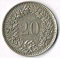 Switzerland 1955B 20c - Switzerland