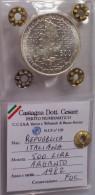 REPUBBLICA ITALIANA 500 LIRE 1982 GIUSEPPE GARIBALDI - FDC - UNC - SILVER ARGENTO - Commemorative