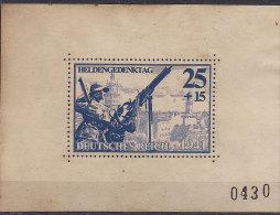 Germany - 1941 Heldengedenktag Fake Bloc - Non Classificati