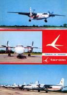 AVIATION CIVILE - ENV. 1970 - BIMOTEUR à HÉLICES - ANTONOV ´AN 24´ - TAROM - ROUMANIE (c-149) - 1946-....: Moderne