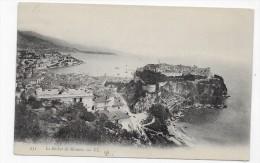 MONACO - N° 951 - LE ROCHER - CPA VOYAGEE - Monaco