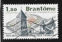 N° 2253  FRANCE  -  OBLITERE  - BRANTOME  -  1983 - France