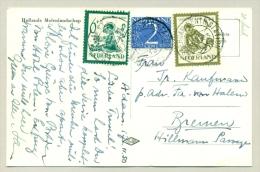 Nederland - 1950 - 5 En 6 Cent Kind Als Combinatie Frankering Op Ansicht Naar Bremen / Duitsland - 1949-1980 (Juliana)