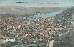 CPA 69 - Givors - Vue Générale - Le Pont De Chasse - Le Rhône - Givors
