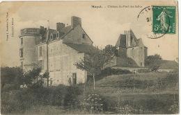 Chateau Du Fort Des Salles à Mayet Envoi à Cité Des Fleurs Rue Croisier Riom - Mayet
