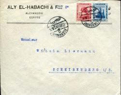 6068 Egypt,   Cover 1921  To Germany - Égypte
